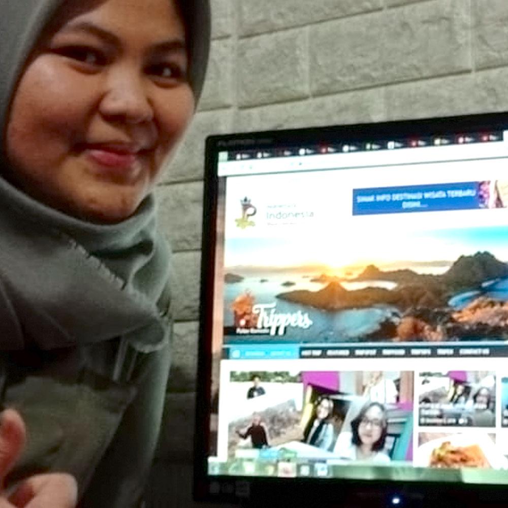 Dian | Sekretaris Komunitas Wisata Indonesia