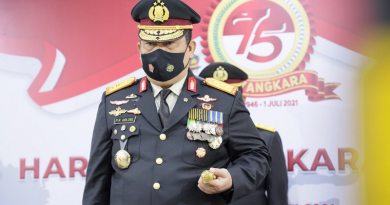 Petrus Golose Ingatkan Jajaran BNN Patuhi Instruksi Jokowi Soal PPKM Darurat, Kepala BNN Imbau Masyarakat Taati Prokes
