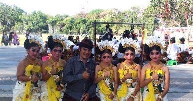 I Komang Wardana Pendiri Sanggar Wit Tonjaya di Bali